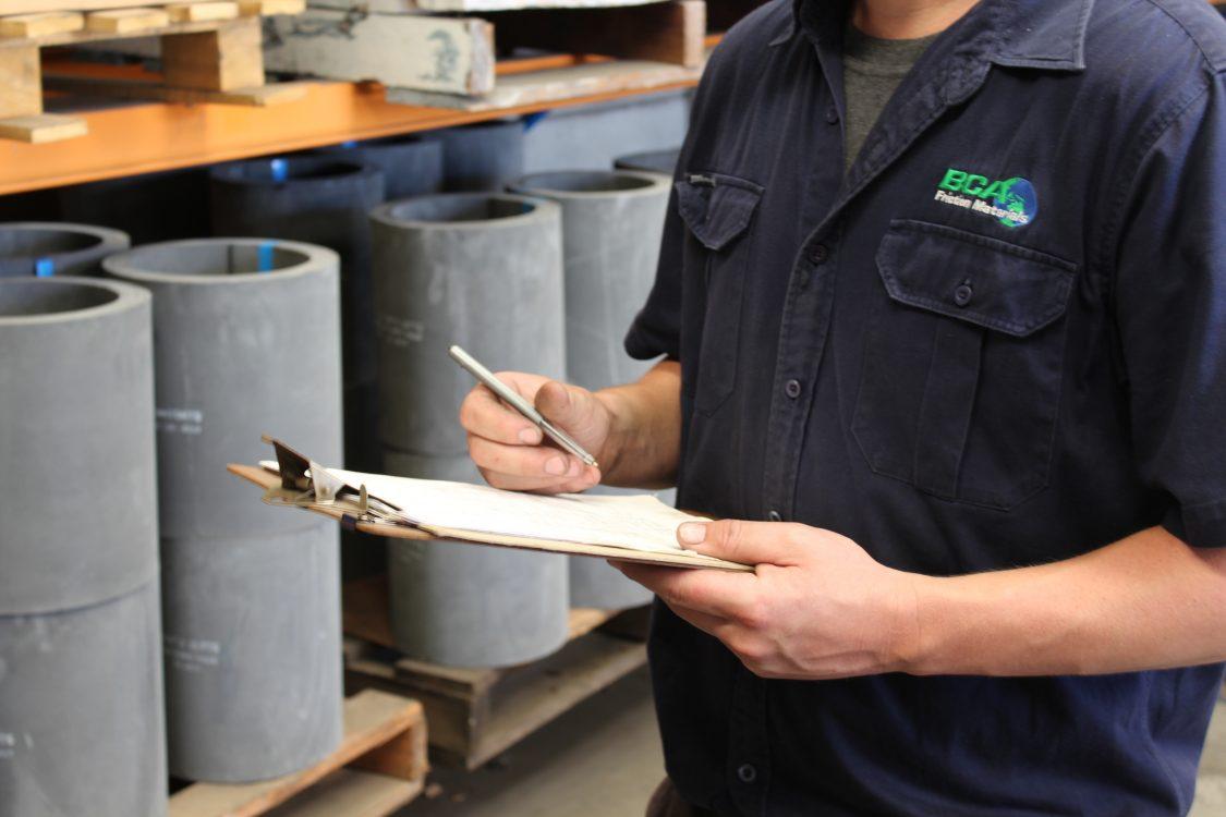 moulded roll, supplier, brake lining, clutch, industrial, sydney australia logistics, shipping, worker