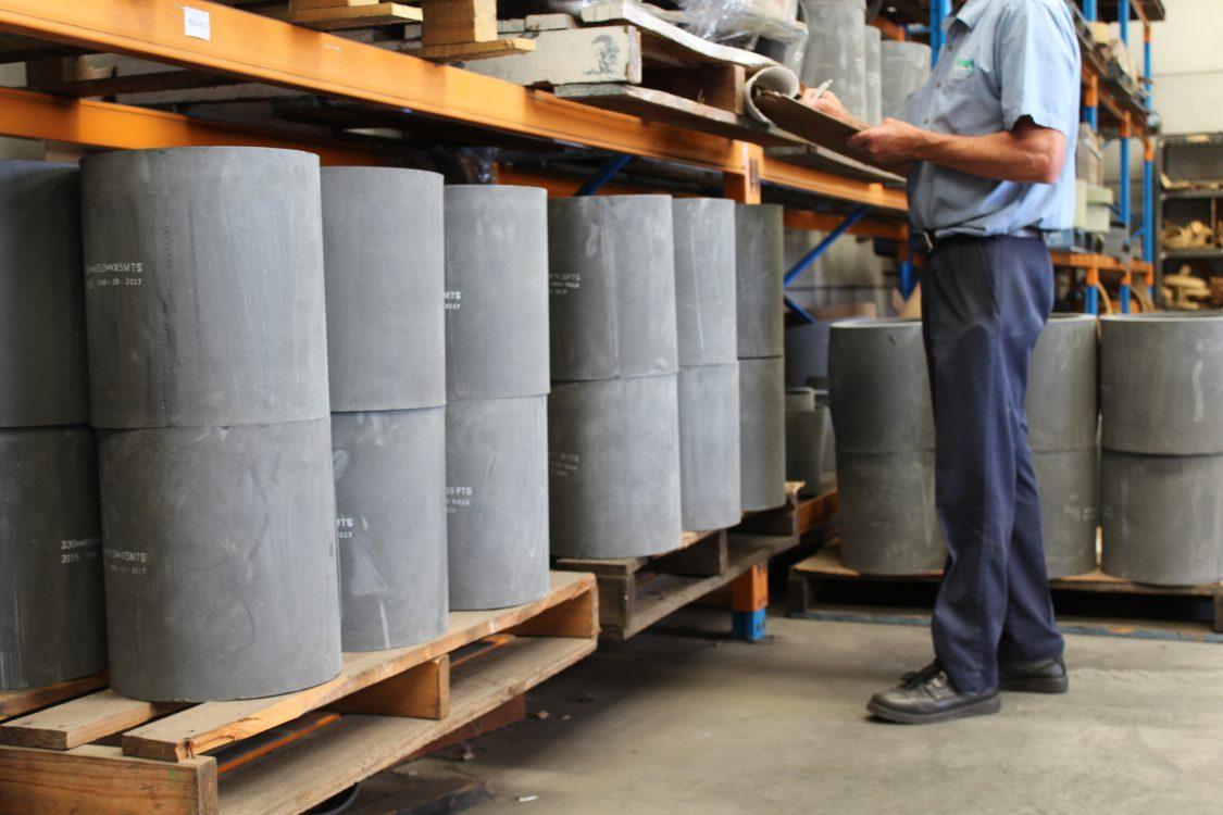 moulded roll, supplier, brake lining, clutch, industrial, sydney australia, logistics, shipping, worker