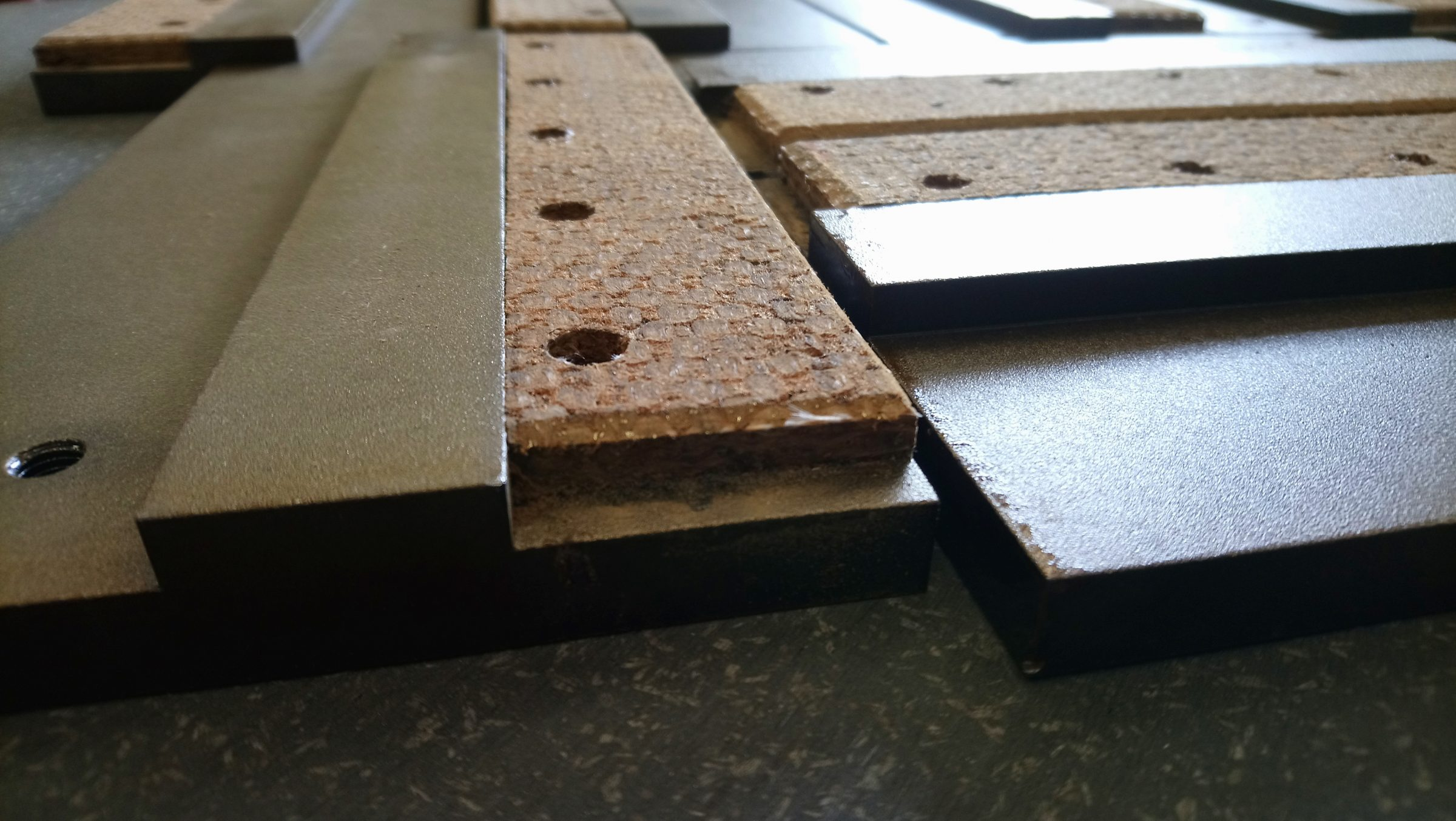 Woven, riveted, brake lining,