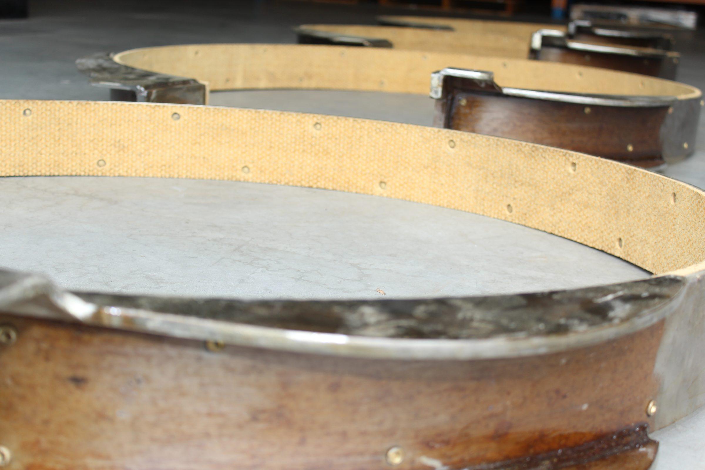 woven riveted brake bands waterways
