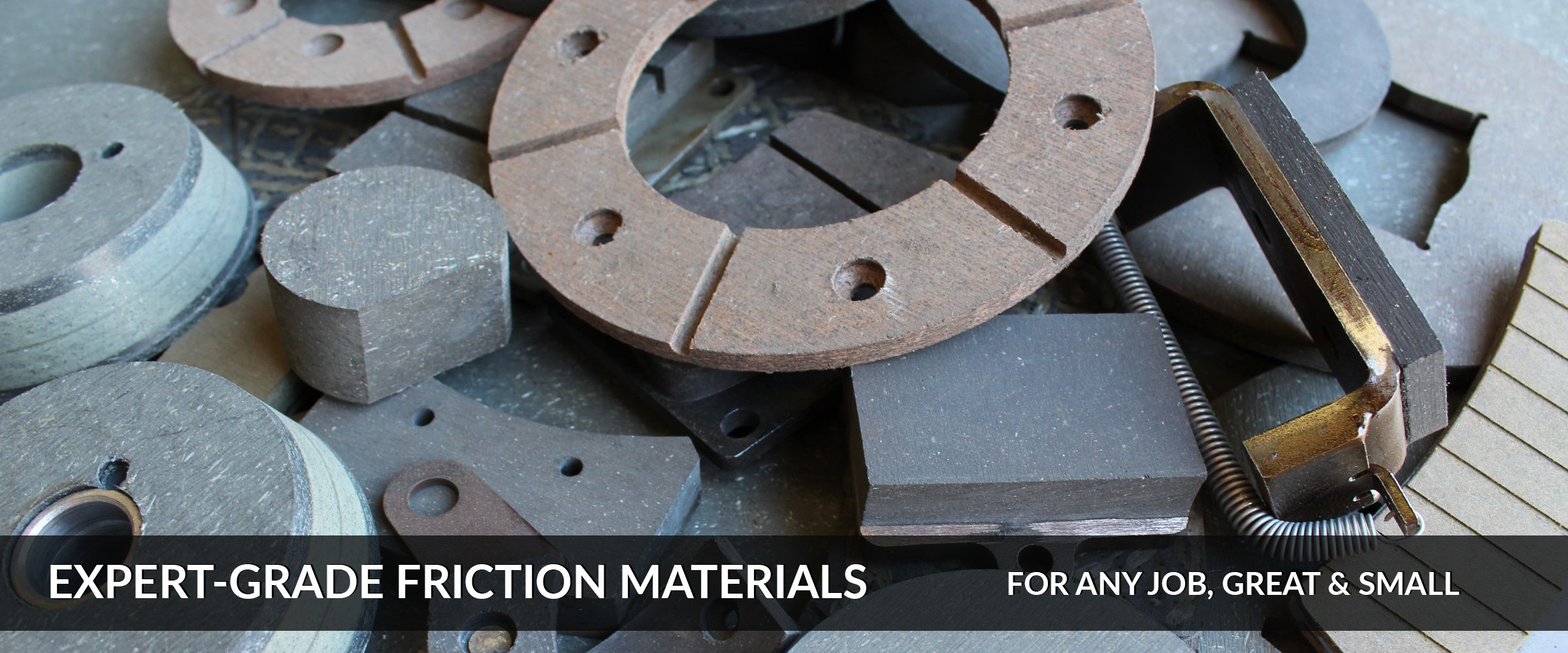 Friction Material, Shoe, Pad, Segment, Cone, Lining, Relining, Bonding